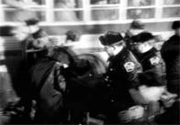 Troopers Arrest Strikers
