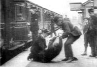 Arrest at Train Station