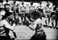 Student Recruits Boxing Training